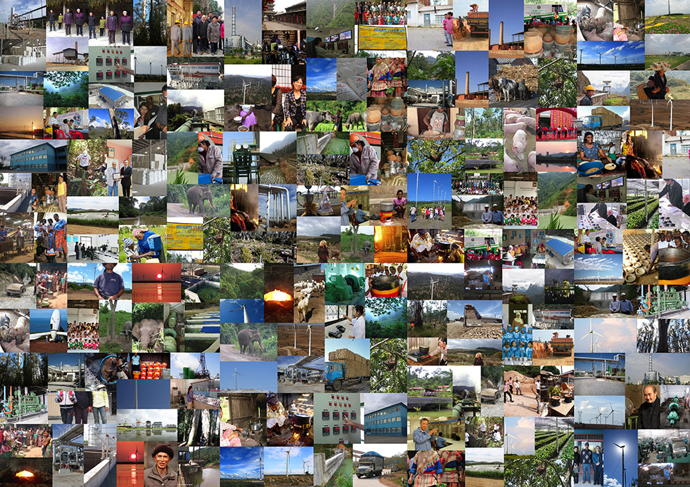 Climate Friendly collage