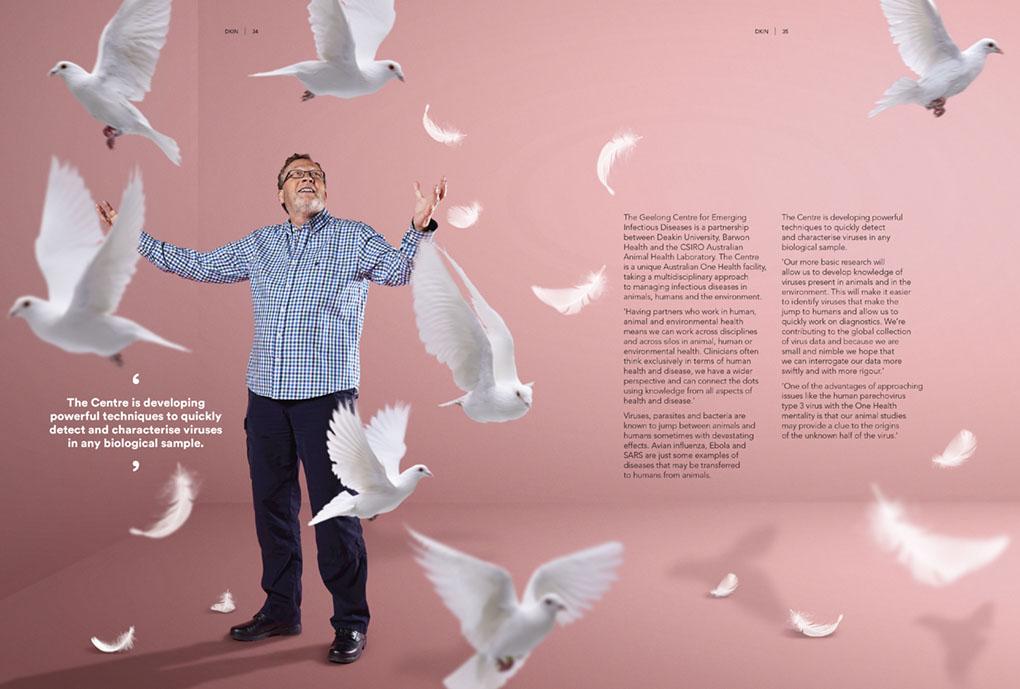 14011 dKin Alumni Magazine 2017_Birds spread 2