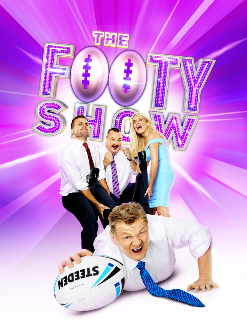 Channel 9 Footy Show Poster